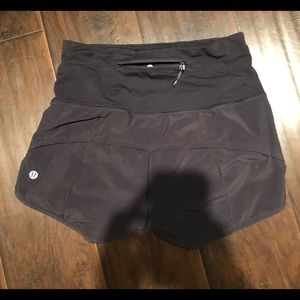 Lululemon high waisted speed shorts!